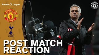 Jose Mourinho & Luke Shaw Reaction | Manchester United 0-3 Tottenham Hotspur
