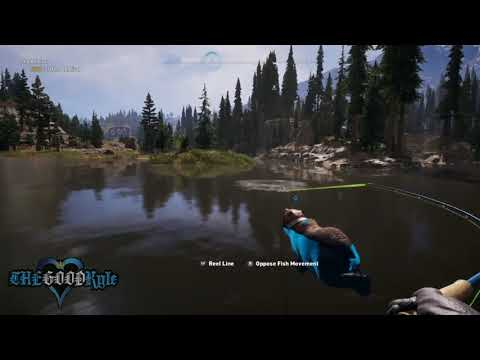 Far Cry 5: Catching The Admiral Fish