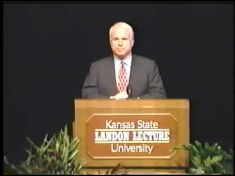 Landon Lecture | John McCain