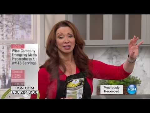 HSN | Preparedness Event featuring Wise Foods 01.30.2017 - 06 AM