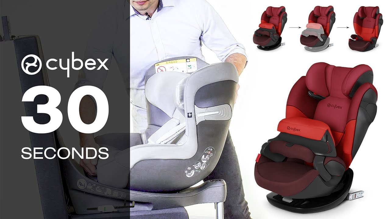 30 Seconds With Cybex Impact Shield Easy Installation Youtube