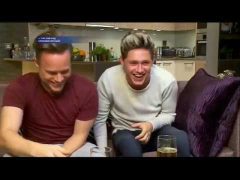 Niall Horan & Olly Murs on Celebrity Gogglebox...
