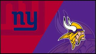 Giants vs. Vikings Week 5 Highlights | NFL 2019