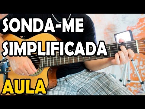 Aula De Violão Gospel - Sonda-me (Aline Barros) Simplificada