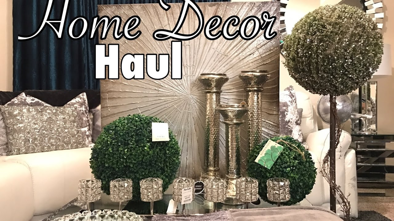 Homegoods U0026 Marshalls Home Decor Haul   YouTube