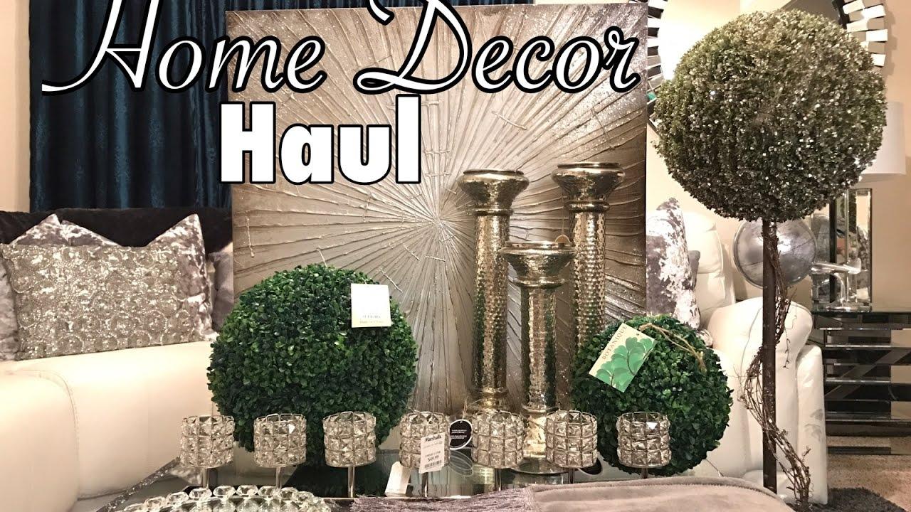 Homegoods  Marshalls Home Decor Haul  YouTube