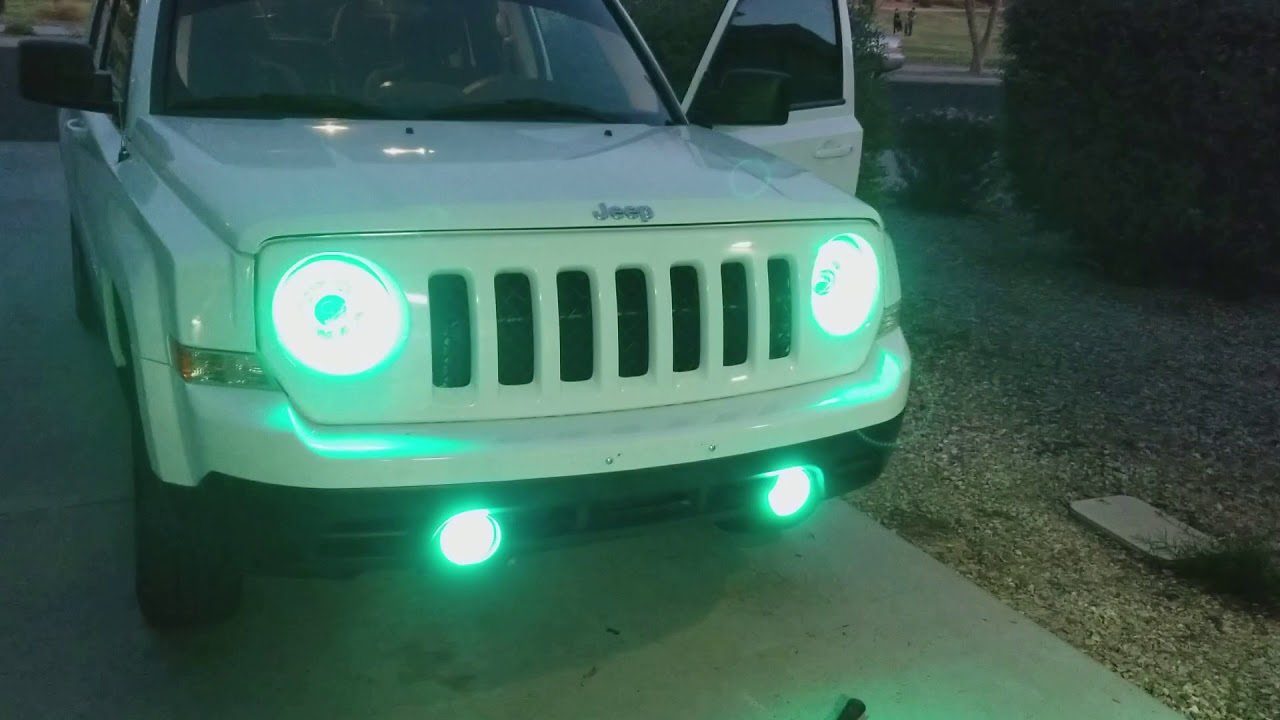2017 Jeep Patriot Led Halo You