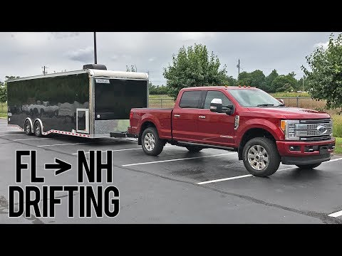 First Time Towing Mistakes + Cross Country Drifting!