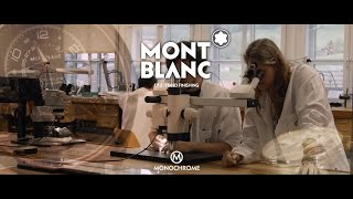 Montblanc - Hand Decoration At The Villeret Manufacture