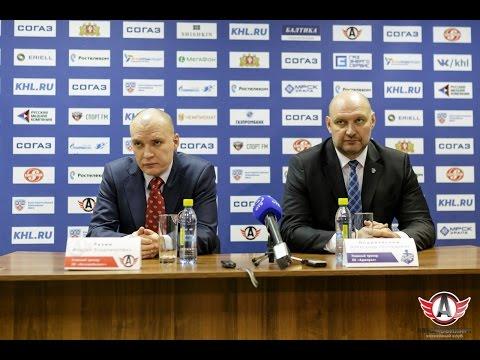 """Пресс-конференция - """"Автомобилист"""" 1:3 """"Адмирал"""" (8.10.2015)"""