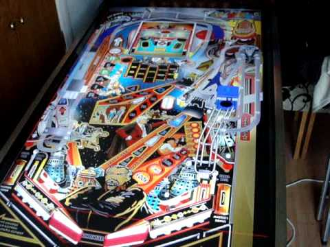 Visual Pinball Widebody Cabinet Doctor Who - YouTube
