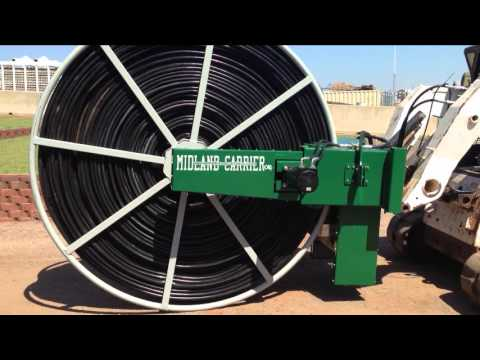Midland Carriers LF-660 Lay-Flat Hose Retrieval System