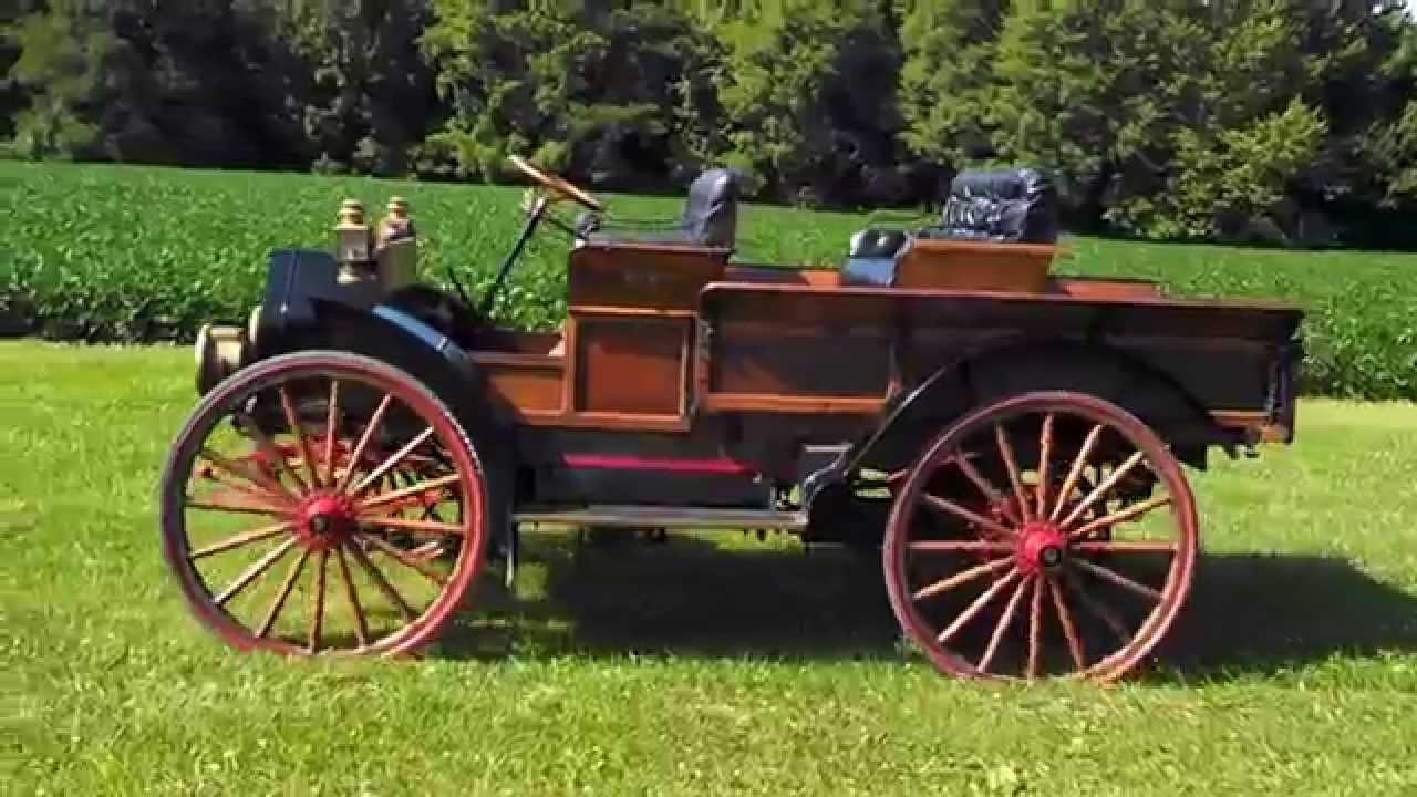 Antique International Harvester Wagon : International harvester ihc auto wagon truck youtube