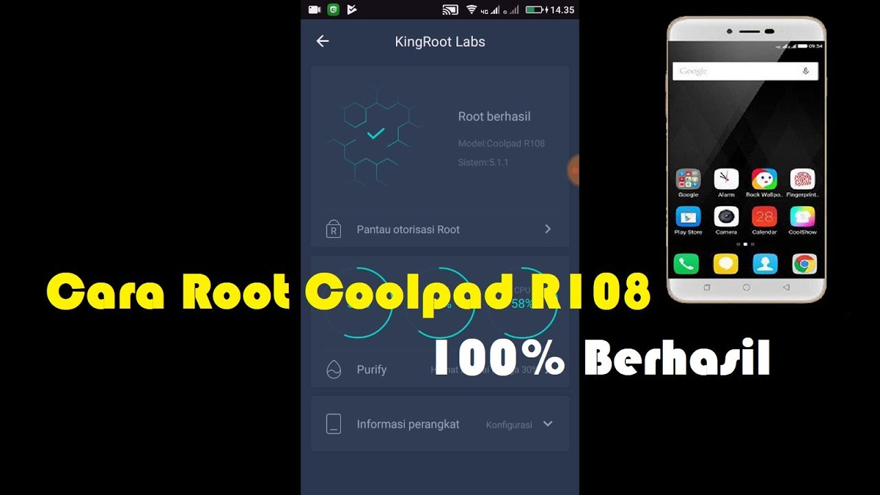 Root Coolpad 3632a With Pc
