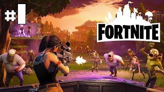 FORTNITE EARLY ACCESS - Début [HD]