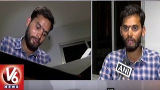 Hyderabad Student Tukaram Scales Mount Kilimanjaro For Creating Awareness On Helmets | V6 News