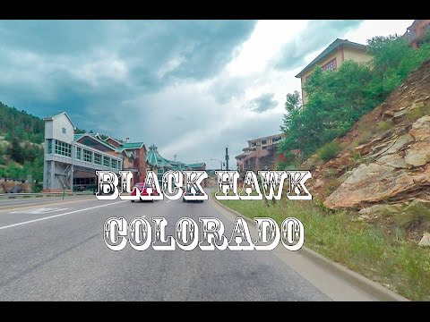 Boulder to Black Hawk Colorado (Casino town) Road Tour