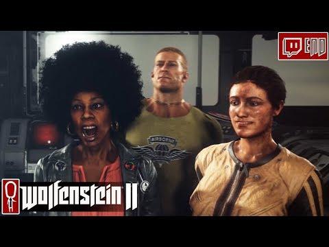 Let's Play Wolfenstein II - Part 6 - ENDING - Gameplay Wolfenstein 2