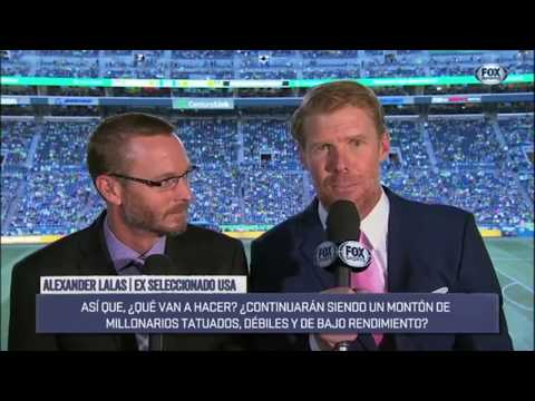 Alexi Lalas Calls Out the USMNT in Epic Rant