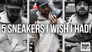 5 SNEAKERS I WISH I HAD (YEEZYS + OVO JORDANS at Rif LA)
