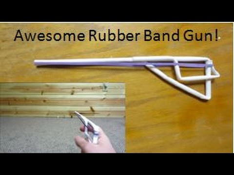 how to build a rubber band gun out of legos