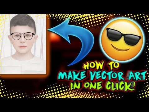 How To Make Vector Art In One Click!!!| Best Way | Sid Tech |
