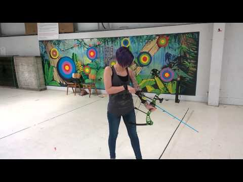 Asd green monster compound bow