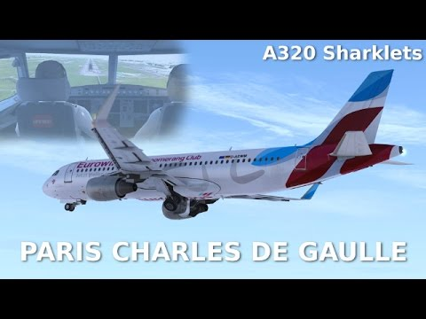 [FSX (BOXED VERSION)] Paris Charles De Gaulle (NEW AMAZING SCENERY BY T2G!)