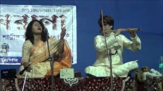 Thumri - Raaga Bhairavi - Vocal Flute Jugalbandi - Anjana Kusari ft. Mrityunjoy Mukherjee