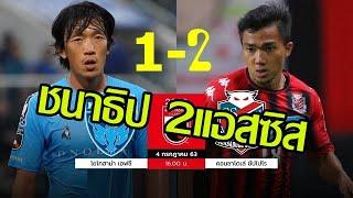 โยโกฮามา FC 1-2 ซัปโปโร  (ชนาทำ 2แอสซิส)