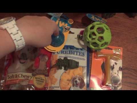 dog-treats-&-toys-haul