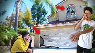 WE DESTROYED OUR CHILDHOOD HOME...