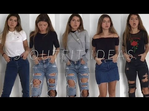 5 OUTFIT IDEAS FOR SCHOOL