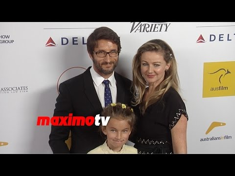 Jonathan LaPaglia  2014 Australians in Film Awards  Red Carpet