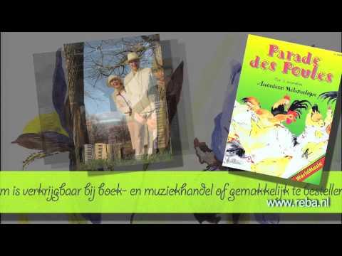 Bladmuziek voor accordeon - Parade des Poules - Accordéon Mélancolique