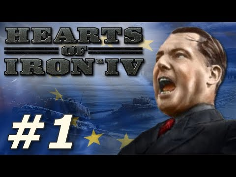Hearts of Iron IV | Belgium Forms the European Union - Part 1