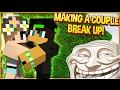 BOYFRIEND AND GIRLFRIEND GET TROLLED! (Minecraft Trolling)