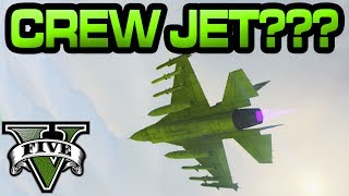 GTA Online - Crew Coloured Jet Glitch