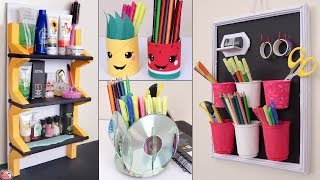 10 Genius DIYs ... Create Space In SMALL HOUSE    Organization Ideas !!!
