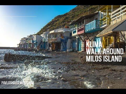 Klima Walk Around Milos Island Greece