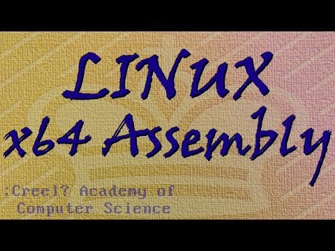 Linux x64 Assembly Tutorial 3: Bits, Bytes and Registers