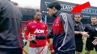 Rechazos de Saludos más Locos En El Fútbol ● Funny and Crazy Refuses Handshake in Football