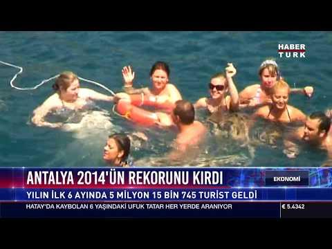 Antalya 2014'ün Rekorunu Kırdı