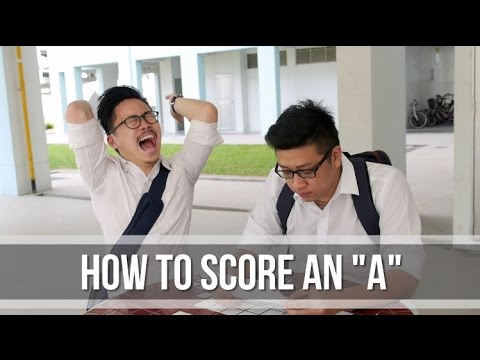 How to score an 'A'?