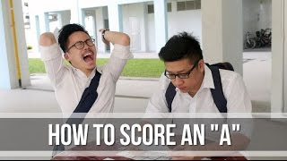 "How to score an ""A""?"