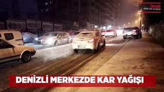 DENİZLİ KAR YAĞIŞI - Denizli Haberleri - HABERDENİZLİ.COM