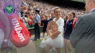 Simona Halep reflects on Wimbledon 2019 win