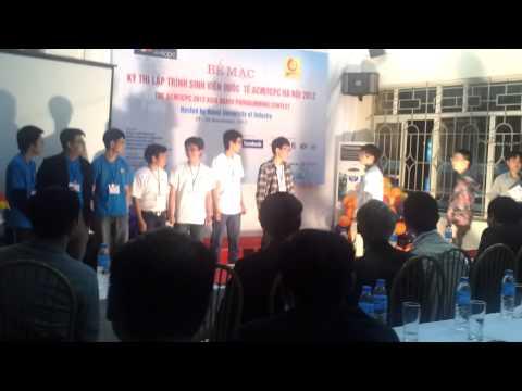 CTU.Optimists at ACM/ICPC Hanoi 2012
