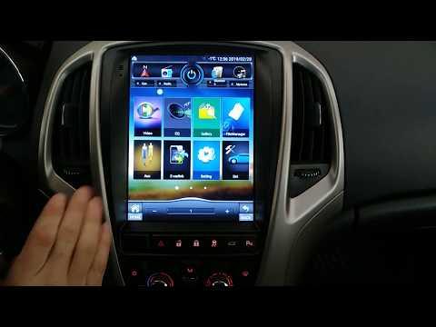 Мультимедиа Тесла для Opel Astra J. Замена штатного головного устройства. Кратко о главном.
