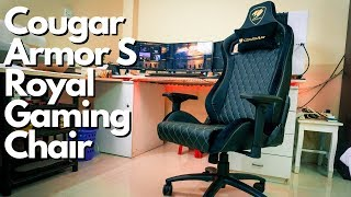 Cougar Armor S Royal Gaming Chair Unboxing Assmbly and Review | Best Budget Gaming Chair Yet